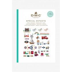 Keresztszemes mintaív Gyerekeknek DMC