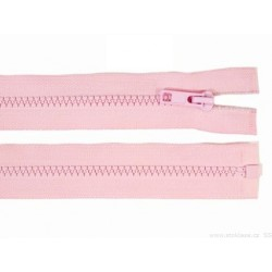 Cipzár 30 cm bontható rózsaszín GT10