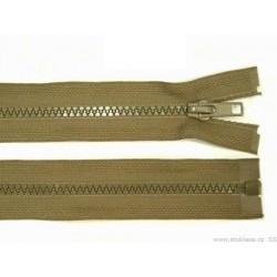 Cipzár 30 cm bontható khaki GT10
