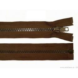 Cipzár 40 cm bontható barna GT10