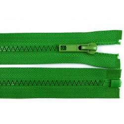 Cipzár 50 cm fűzöld bontható GT10