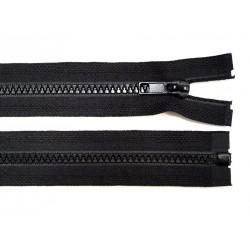 Cipzár 40 cm bontható fekete