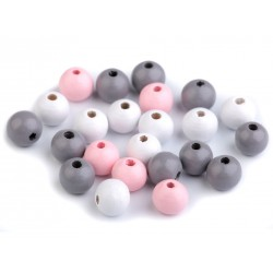 Fagyöngy 1 cm rózsaszín/szürke/fehér keverék 10 g