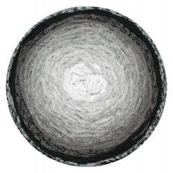 ReTwisst Macrame Cake fekete/szürke 250 g