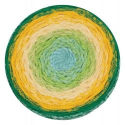 ReTwisst Macrame Cake zöld/sárga 250 g