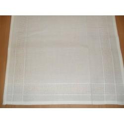 Betétes terítő 40x100 cm fehér