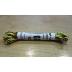 Cipőfűző gömbölyű 60 cm gyerekcipőbe sárga/piros/zöld