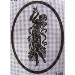 Gobelin 15x20 cm E009 Antik árnykép