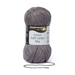 Soft Linen Mix grafit 50 g