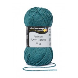 Soft Linen Mix zöld 50 g