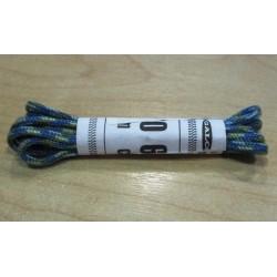 Cipőfűző gömbölyű 60 cm gyerekcipőbe kék/türkiz/mustár