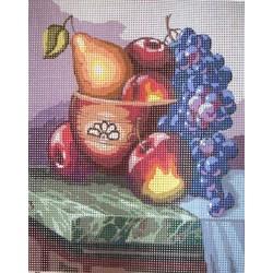 Gobelin 20x25 cm CS017 Őszi gyümölcsök