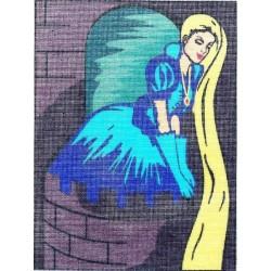 Gobelin 18x24 cm t1824-052 Rapunzel