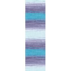 Bella Batik kék/lila/türkiz 50 g