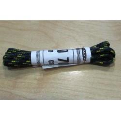 Cipőfűző gömbölyű 70 cm gyerekcipőbe sötétkék/zöld/sárga
