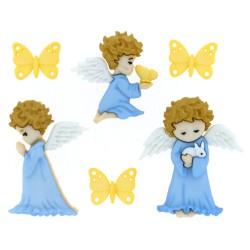 Dress It Up gombszett Cherished Angels