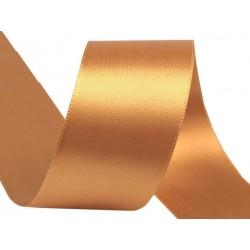 Szatén szalag 4 cm aranybarna