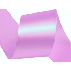 Szatén szalag 4 cm lila