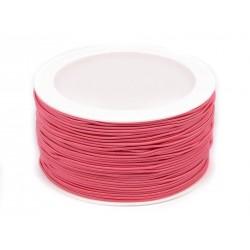 Kalapgumi 0,12 cm rózsaszín
