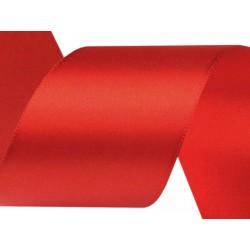 Szatén szalag 5 cm piros 3 m/cs