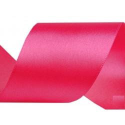 Szatén szalag 5 cm pink 3 m/cs