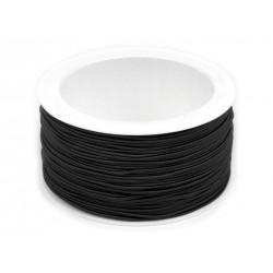 Kalapgumi 0,12 cm fekete