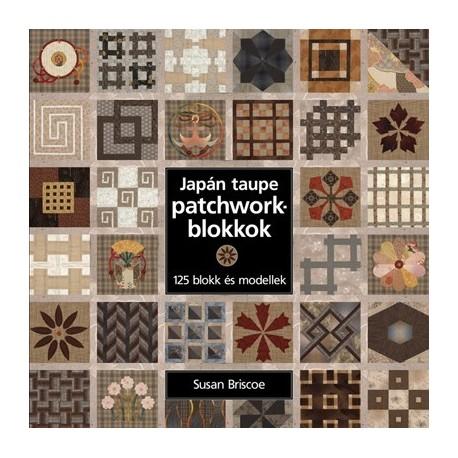 Japán taupe patchworkblokkok