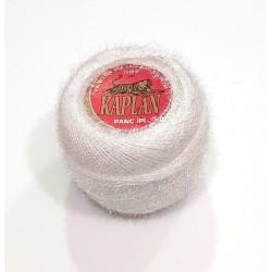 Kaplan csillogó effektfonal fehér 20 g