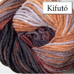 Lanagold Batik  barna/rozsda/szürke 100 g