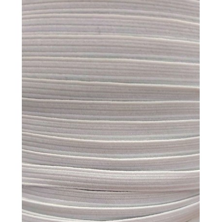 Kalapgumi 0,6 cm lapos fehér