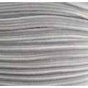 Kalapgumi 0,55 cm lapos fehér