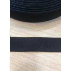 Köper szalag 2 cm fekete