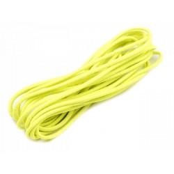 Gumi 0,2 cm hengeres sárga 3 m