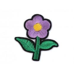 Vasalható folt lila virág