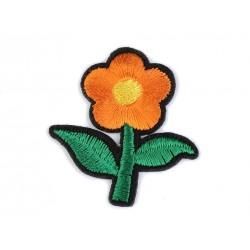 Vasalható folt narancssárga virág