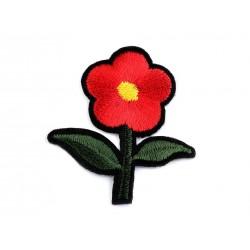 Vasalható folt piros virág