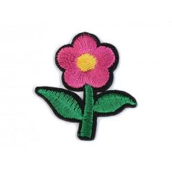 Vasalható folt pink virág