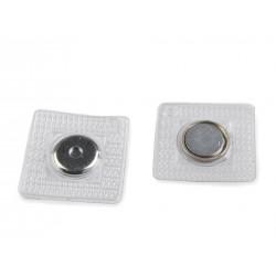 Mágneszár varrható 15 mm nikkel