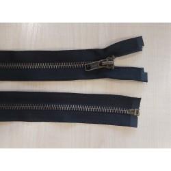 Cipzár 90 cm fém fekete VT10