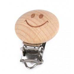 Csipesz cumilánchoz 3x4,5 cm Smile