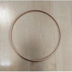 Fa karika makraméhoz 17 cm