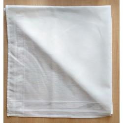 Hímezhető terítő 80x80 cm fehér
