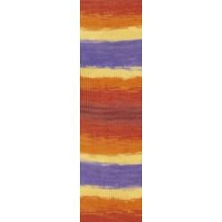 Diva Batik barna/narancs/lila 100 g