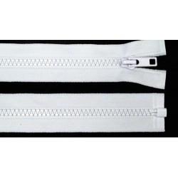 Cipzár 75 cm bontható fehér