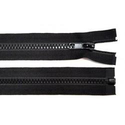 Cipzár 85 cm bontható fekete
