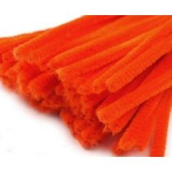 Zsenília drót 0,6 cm narancs