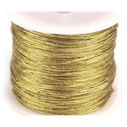 Zsinór 0,1 cm aranyszínű
