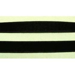 Tépőzár 2,5 cm fekete