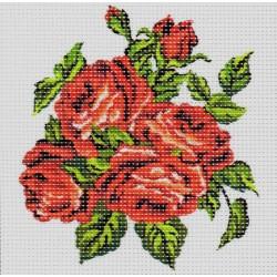 Gobelin 15x15 cm 999 Rózsa