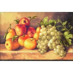 Gobelin 22x30 cm 407 T Gyümölcs csendélet
